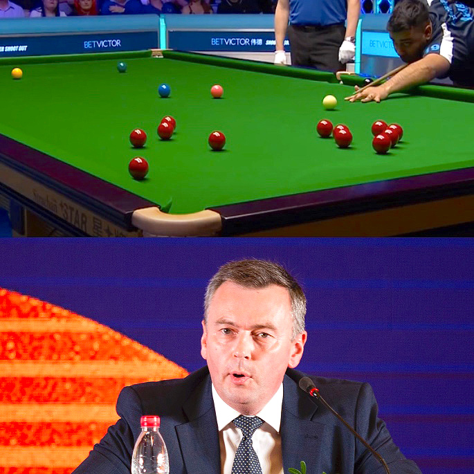 Fabulous Farakh Ajaib on Cue for Professional Snooker - IA 1