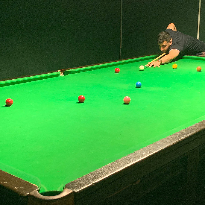 Fabulous Farakh Ajaib on Cue for Professional Snooker - IA 3