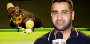 Fabulous Farakh Ajaib on Cue for Professional Snooker - f