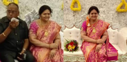 Indian Man installs lifelike Statue of Late Wife