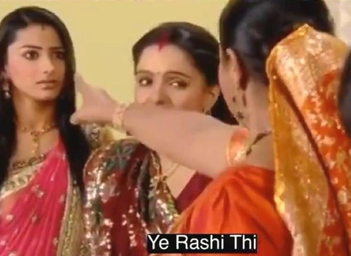 भारतीय टीव्ही संवाद गाणे # राशीसह व्हायरल झाले