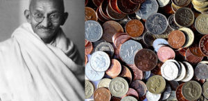 Mahatma Gandhi considered to be on UK Coin f
