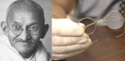 महात्मा गांधी के चश्मे नीलामी में £ 260k के लिए बेचते हैं