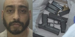 Man Jailed after being Caught with Weapons Haul during Raid