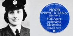 Noor Inayat Khan WWII British Spy honoured with Blue Plaque
