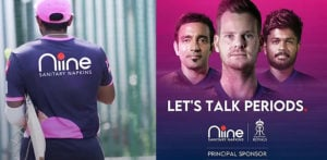 Rajasthan Royals aims to remove Period Stigma with Sponsor f