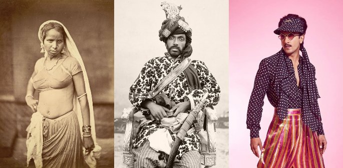 The History Of Fashion In India Desiblitz