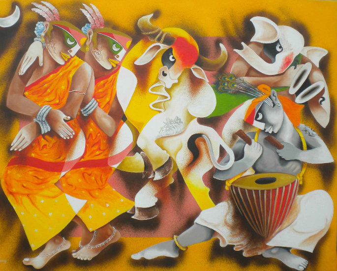 The Importance of Art in South Asia - folklore