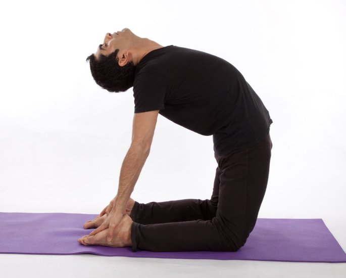 Yoga Positions to Help with Mental Health - Camel Pose