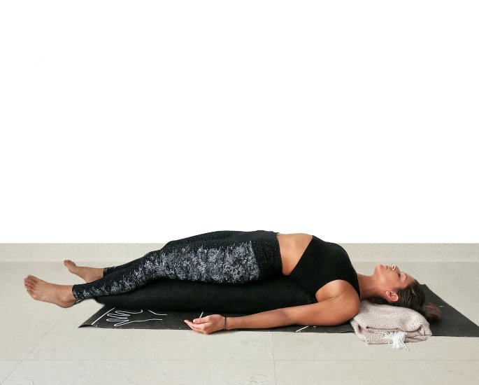 Yoga Positions to Help with Mental Health - Corpse Pose