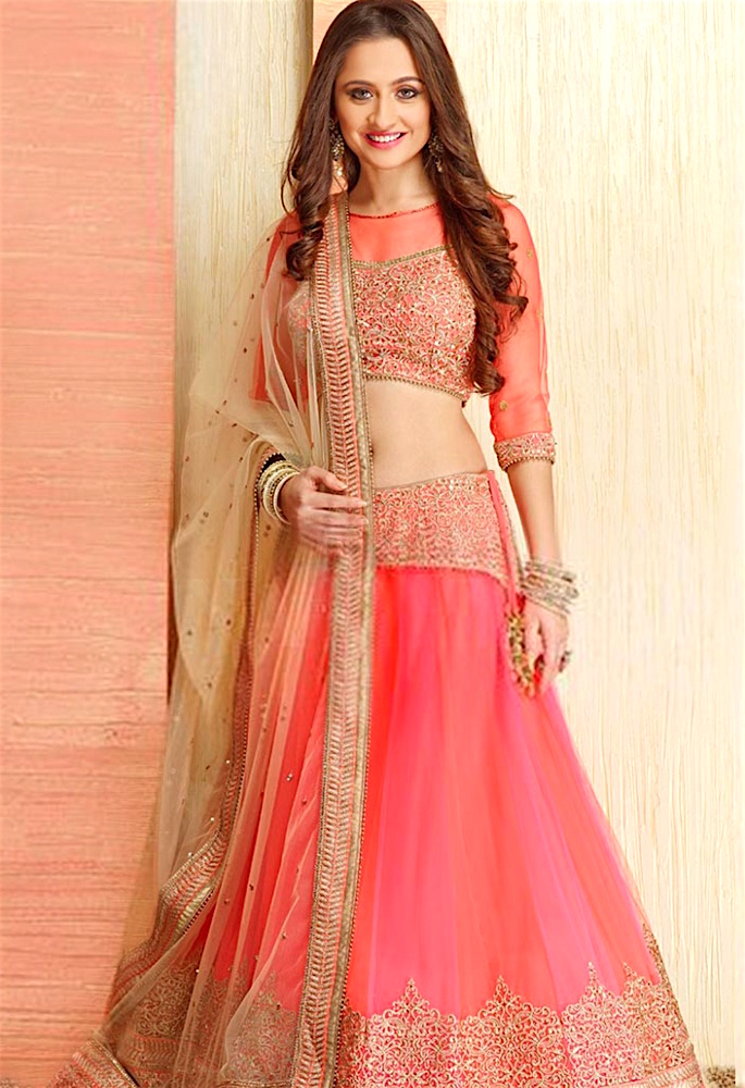 15 Best Dupatta Styles & Draping Trends - one shoulder