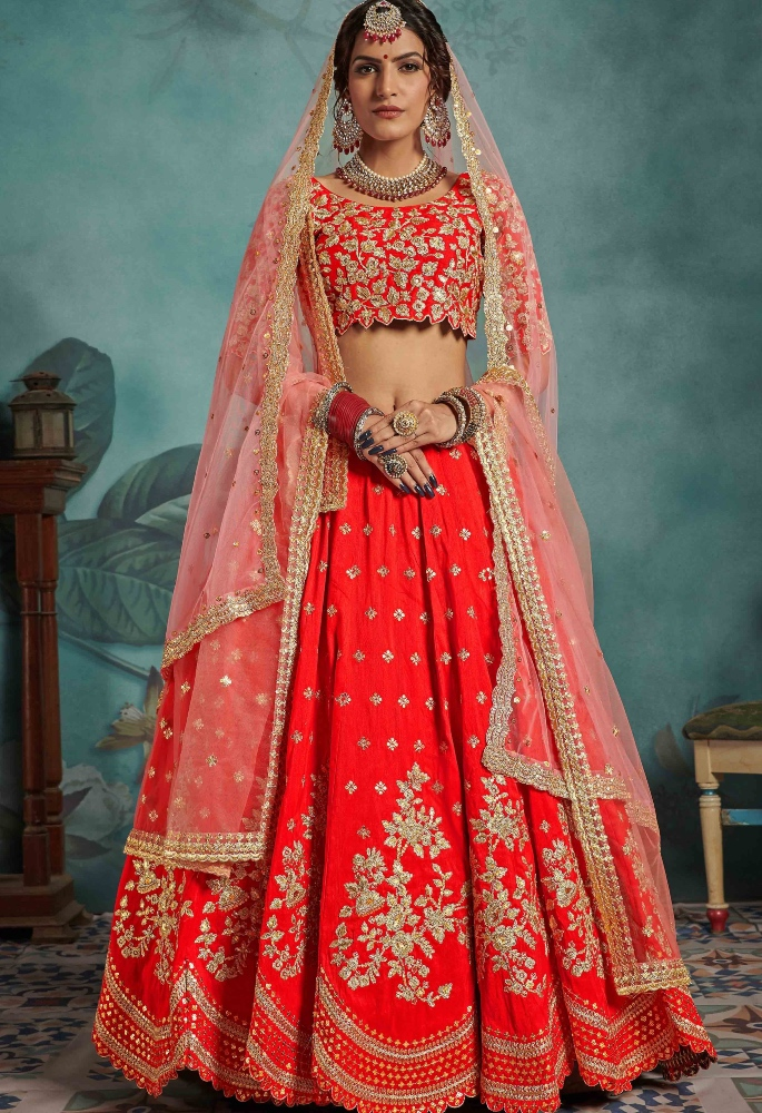 15 Best Dupatta Styles & Draping Trends - over the head