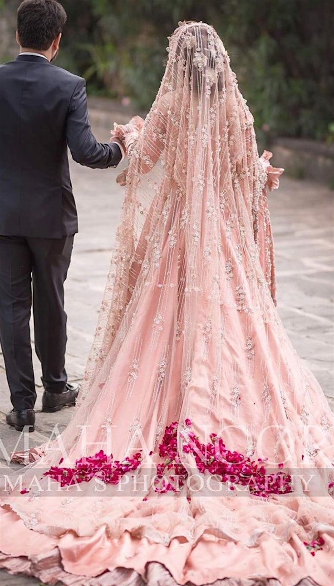 20 Stunning Photos of Desi Brides Worth a Look - walking away