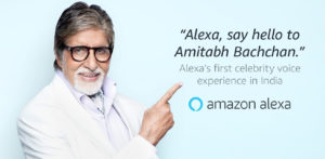 Amitabh Bachchan to be Voice of Amazon Alexa in India f