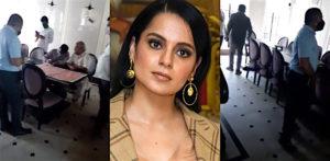 BMC officials Vandalise Kangana Ranaut's Mumbai Office? f