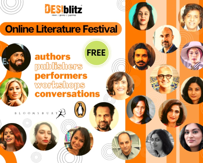DESIblitz Online Literature Festival Programme 2020 - cover