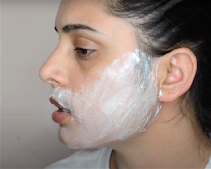 How to Remove Facial Hair Safely at Home - hair removal cream