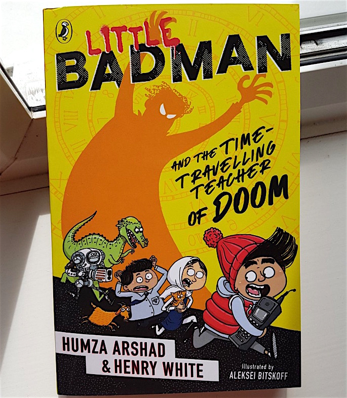 Humza Arshad talks Little Badman Books & Creativity - book4