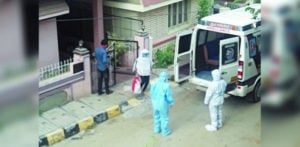 Indian Covid-19 Patient stages own Kidnapping f