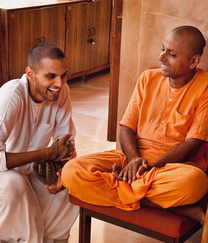 Jay Shetty talks Think Like A Monk - ashram