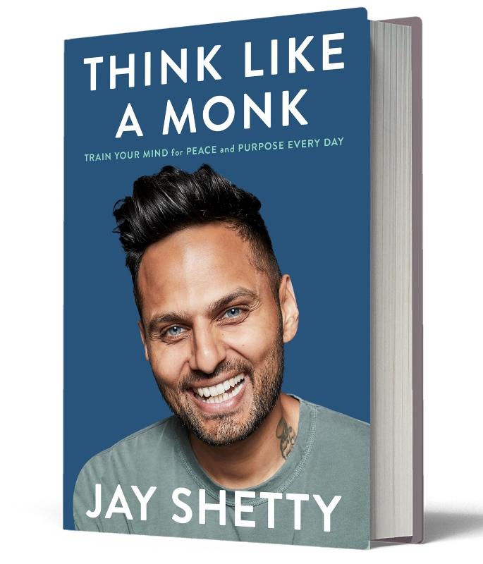 Jay Shetty talks Think Like A Monk - book