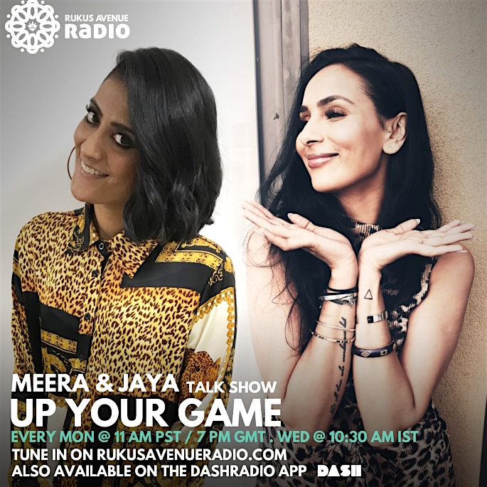Meera Sharma and Jaya talk 'Up Your Game' & Dating - brochure