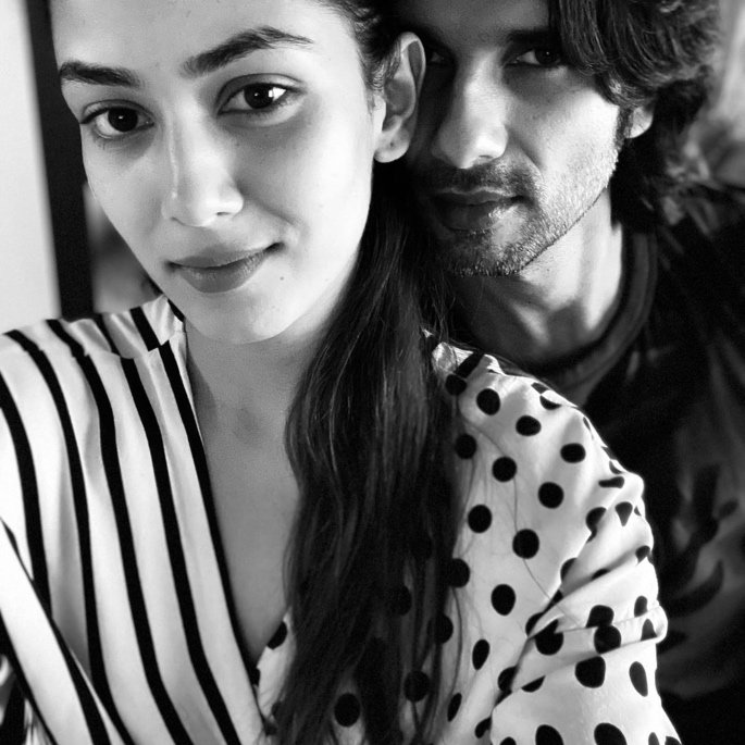 Mira Rajput opens up about Marriage with Shahid Kapoor - b&w