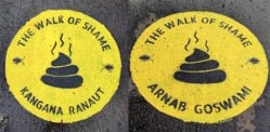 Mumbai's Banksy's 'The Walk of Shame' Trolled Online