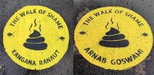Mumbai's Banksy's 'The Walk of Shame' Trolled f