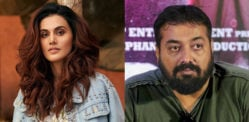 Taapsee Pannu defends Anurag Kashyap Harassment Claims