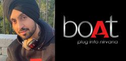 Tech Brand boAt names Diljit Dosanjh as Brand Ambassador