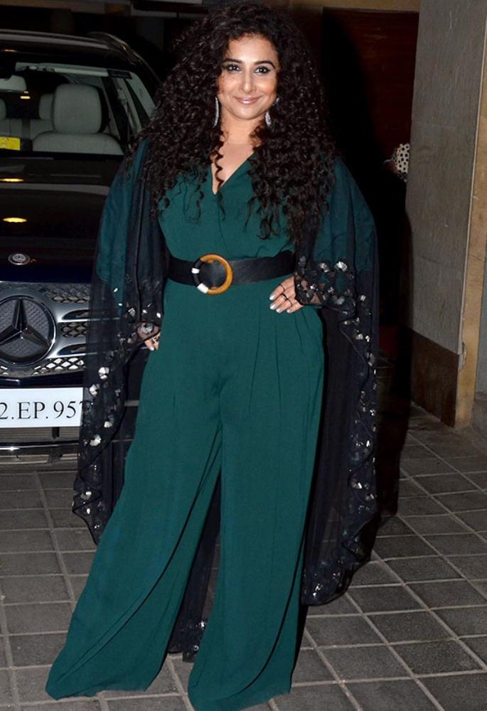 Vidya Balan opens up about being the 'Fat Girl' - jumpsuit