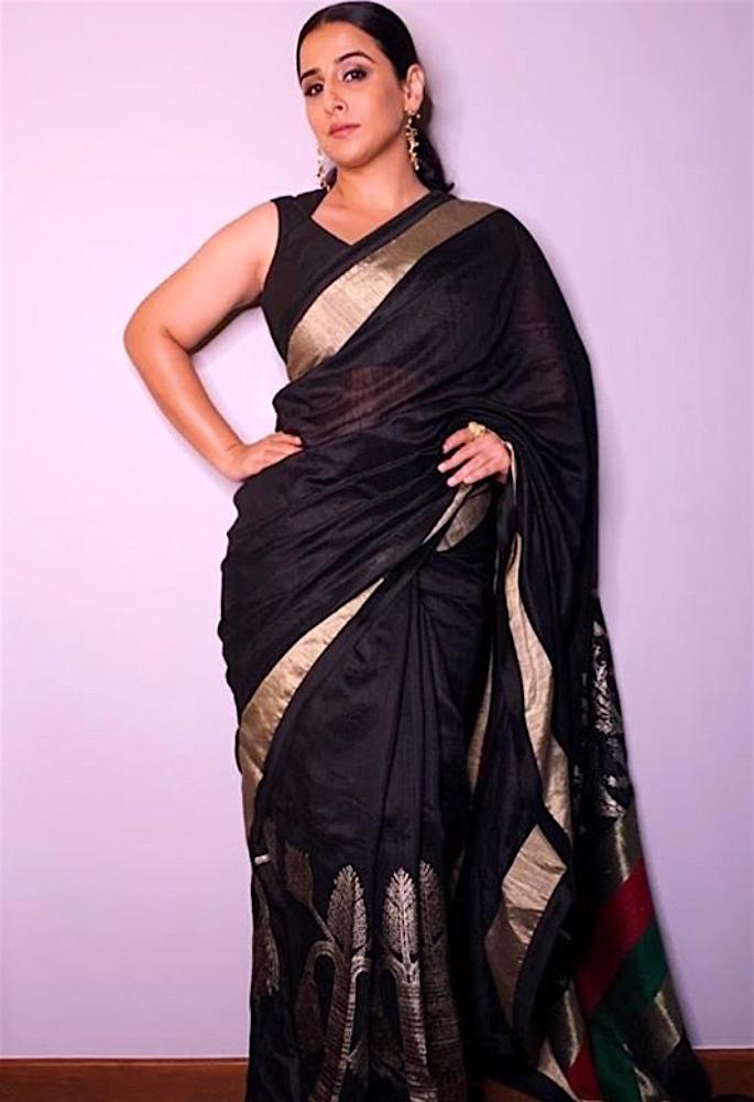 Vidya Balan opens up about being the 'Fat Girl' - saree