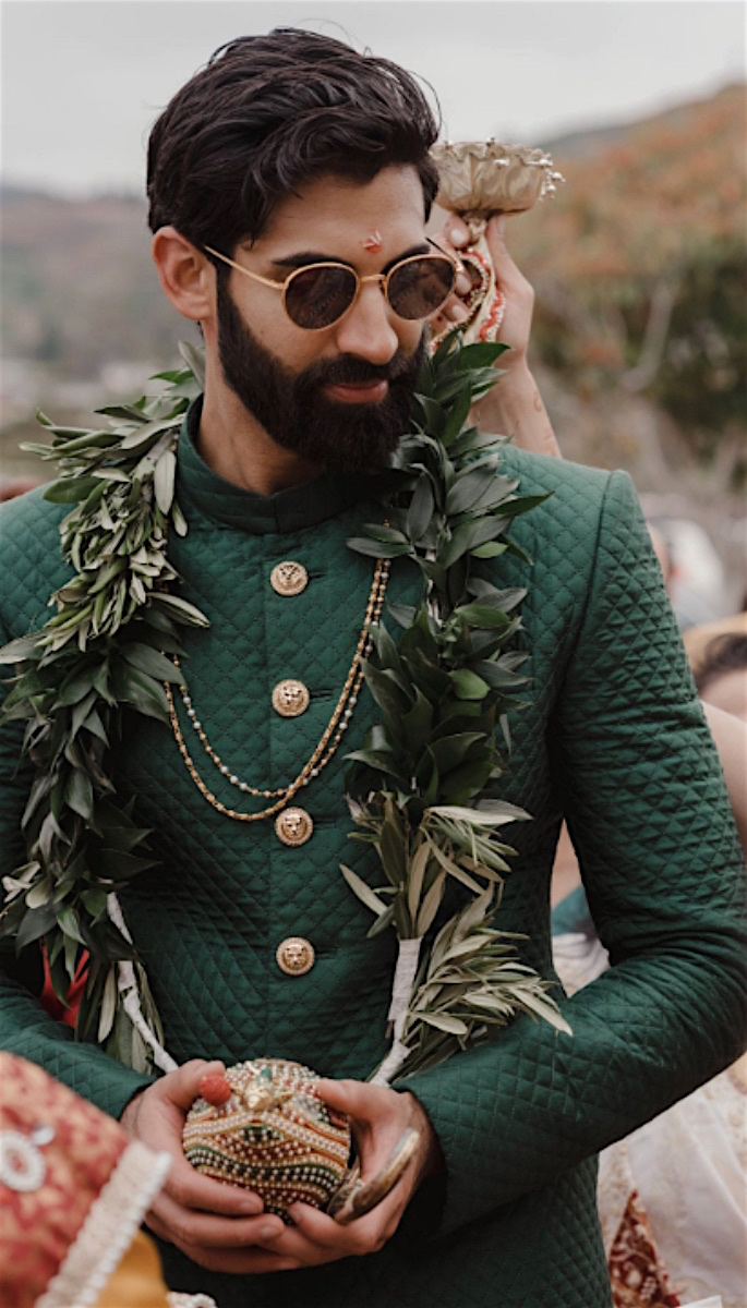 20 Amazing Desi Grooms Photos - green