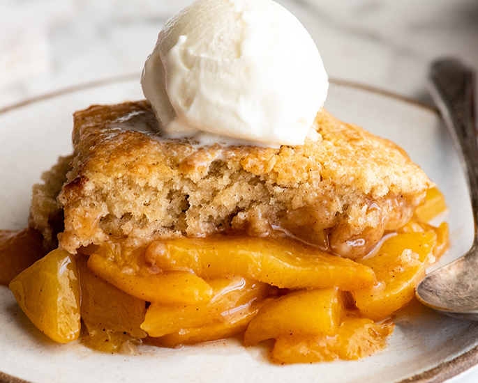 5 Easy Dessert Recipes for Students - peach