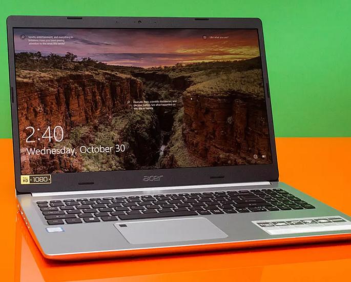 5 शीर्ष लैपटॉप घर से काम करने के लिए बढ़िया - एसर