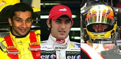 6 Famous Indian Racing Drivers in the Fast Lane