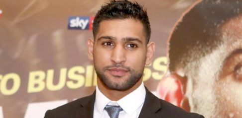 Boxer Amir Khan looking at a Move into Politics? f