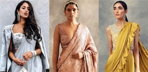 Gorgeous Saree Fashion Trends for 2021 f