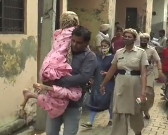 Indian Wife was locked by Husband in Toilet for 1.5 Years - rescue