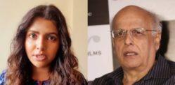 लवीना लोध ने महेश भट्ट और परिवार पर उत्पीड़न का आरोप लगाया