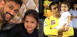 MS Dhoni's 5-year-old Daughter gets Rape Threat by Minor