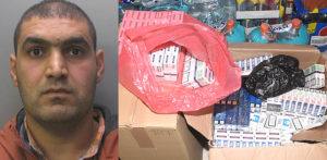 Man jailed for £150k Tax Evasion through Illegal Cigarettes f