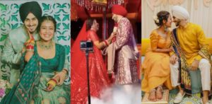 Neha Kakkar Weds Rohanpreet Singh in Delhi f