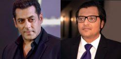 Salman Khan branded 'Fake' & 'Cowardly' by Arnab Goswami