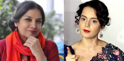 Shabana Azmi criticises Kangana for Attacks on Bollywood