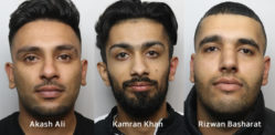 Three Men jailed for Brutal Roadside Machete Attack