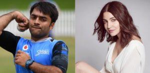 Why does Google show Anushka Sharma as Rashid Khan's Wife? f
