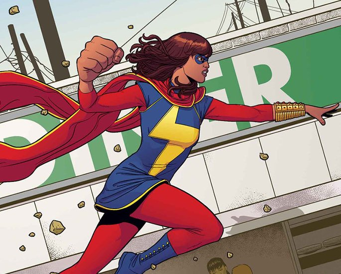 20 Popular South Asian DC and Marvel - ms marvel