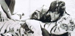 Amitabh Bachchan recalls Fighting a Tiger in 'Khoon Pasina'